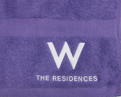 SP4257-B1 W+The Residences (Bath Towel-Zoom) 100x65