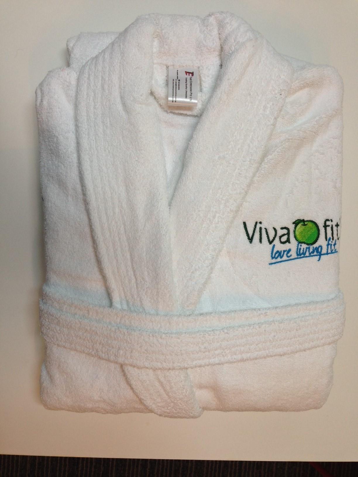 Customised bath robe