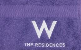 SP4257-B1 W+The Residences (Bath Towel-Zoom) 100x65